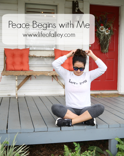 Peace Begins with Me for the Creative Souls Tribe