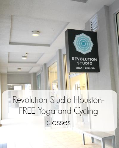 Revolution Studio -FREE Yoga and Cycling classes