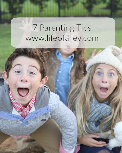 7 Parenting Tips