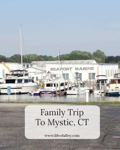 Family Trip To Mystic, CT